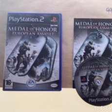 Videojuegos y Consolas: MEDAL OF HONOR EUROPEAN ASSAULT. PS2 PLAY STATION 2. Lote 277495358