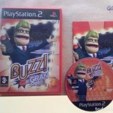 Videojuegos y Consolas: BUZZ EL GRAN RETO PS2 PLAY STATION 2. Lote 277495588