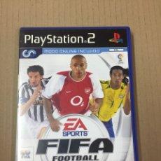 Videojuegos y Consolas: FIFA FOOTBALL 2004 (MODO ONLINE INCLUIDO) DISCO COMO NUEVO. Lote 277520503