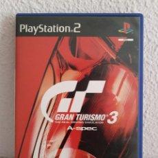 Videojuegos y Consolas: GRAN TURISMO 3 PS2 PAL. Lote 277531658