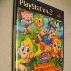 Videojuegos y Consolas: BUZZ! JUNIOR LOCURA EN LA JUNGLA PARA SONY PS2. Lote 277648113