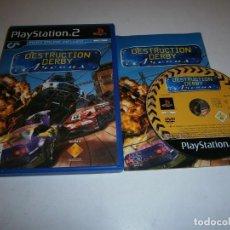 Videojuegos y Consolas: DESTRUCTION DERBY ARENAS PLAYSTATION 2 PAL ESPAÑA COMPLETO. Lote 277664488