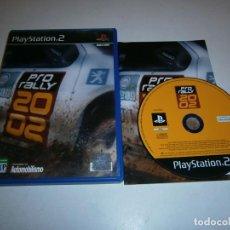 Videojuegos y Consolas: PRO RALLY 2 PLAYSTATION 2 PAL ESPAÑA COMPLETO. Lote 277664743