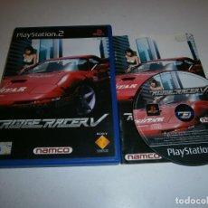 Videojuegos y Consolas: RIDGE RACER V PLAYSTATION 2 PAL ESPAÑA COMPLETO. Lote 277664783
