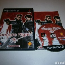 Videojuegos y Consolas: VAMPIRE NIGHT PLAYSTATION 2 PAL ESPAÑA COMPLETO. Lote 277664798