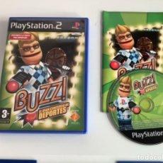 Videojuegos y Consolas: BUZZ DEPORTES PLAY STATION 2 . PS2. Lote 277742188