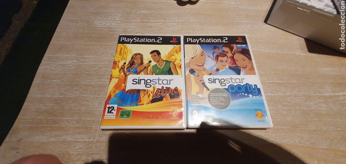 2 JUEGO PS2 SINGSTAR (Juguetes - Videojuegos y Consolas - Sony - PS2)