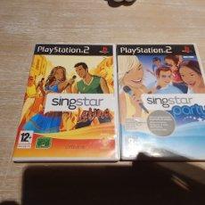 Videojuegos y Consolas: 2 JUEGO PS2 SINGSTAR. Lote 277842603
