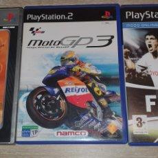 Videojuegos y Consolas: 3 JUEGO PS2 FIFA 07 MOTO GP3 JACK 3. Lote 277842948