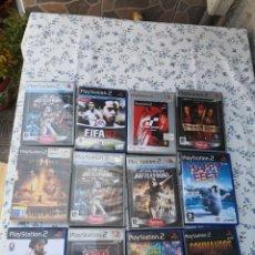Videojuegos y Consolas: LOTE 10 JUEGOS PLAYSTATION 2 + 2 CARCASAS SIN JUEGOS. Lote 284491403