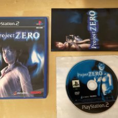 Videojuegos y Consolas: PROJECT ZERO - PAL ESP - COMPLETO - PS2 - 100% ORIGINAL. Lote 284669258