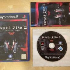 Videogiochi e Consoli: PROJECT ZERO 2 - PAL ESP - COMPLETO - PS2 - 100% ORIGINAL. Lote 284669733