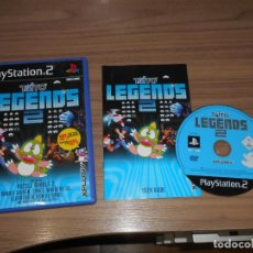 Videojuegos y Consolas: TAITO LEGENDS 2 COMPLETO PLAYSTATION 2 PAL ESPAÑA. Lote 286454398