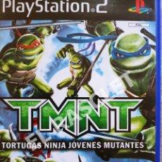 Videojuegos y Consolas: PLAY STATION 2 - JUEGO TMNT - TORTUGAS NINJA JOVENES MUTANTES - PAL. Lote 286484848