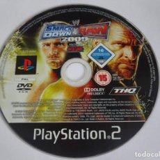 Videojuegos y Consolas: SMACK DOWN RAW 2009 JUEGO PARA SONY PLAYSTATION PS2. Lote 287669343