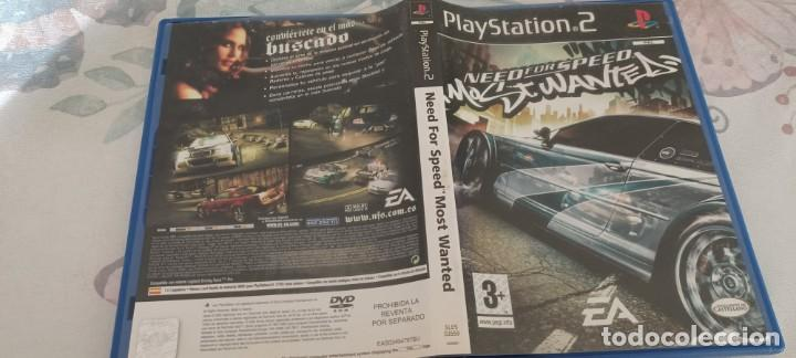 NEED FOR SPEED MOST WANTED ( PS2 - PLAYSTATION 2 - PAL - ESP) (Juguetes - Videojuegos y Consolas - Sony - PS2)