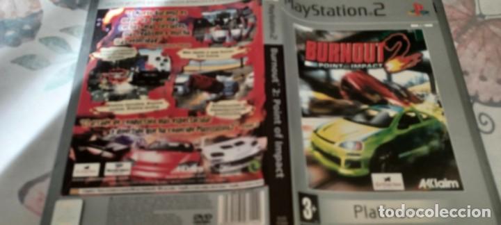 BURNOUT 2 POINT OF IMPACT SONY PLAYSTATION 2 - PAL - ESP) (Juguetes - Videojuegos y Consolas - Sony - PS2)