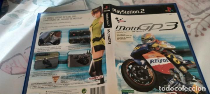 MOTO GP 3 COMPLETO PLAYSTATION 2 - PAL - ESP) (Juguetes - Videojuegos y Consolas - Sony - PS2)