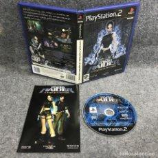 Videojuegos y Consolas: LARA CROFT TOMB RAIDER EL ANGEL DE LA OSCURIDAD SONY PLAYSTATION 2 PS2. Lote 287805133