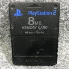 Videojuegos y Consolas: MEMORY CARD OFICIAL 8MB NEGRO SONY PLAYSTATION 2 PS2. Lote 287805153