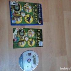Videojuegos y Consolas: PS2 CASINO CHALLENGE PAL ESP COMPLETO. Lote 287895658