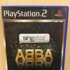 Videojuegos y Consolas: SINGSTAR ABBA - PS2 (2ª MANO - BUENO). Lote 288021843