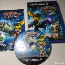 Videojuegos y Consolas: RATCHET & CLANK 2 - TOTALMENTE A TOPE ( PS2 - PAL - ESP)(1). Lote 288080568