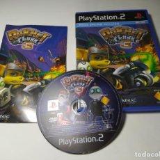 Videojuegos y Consolas: RATCHET & CLANK 3 ( PS2 - PAL - ESP)(1). Lote 288080648