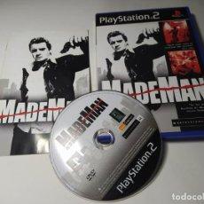 Videojuegos y Consolas: MADE MAN ( PS2 - PAL - ESP)(1). Lote 288080928