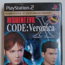 Videojuegos y Consolas: JUEGO PS2 RESIDENT EVIL CODE VERONICA VERSION USA. Lote 288080933