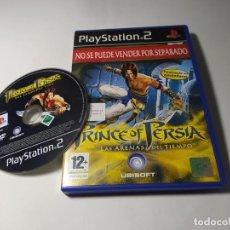Videojuegos y Consolas: PRINCE OF PERSIA - LAS ARENAS DEL TIEMPO ( PS2 - PAL - ESP). Lote 288081253