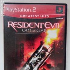 Videojuegos y Consolas: JUEGO PS2 RESIDENT EVIL OUTBREAK CONPLETO VERSION USA. Lote 288081328