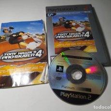 Videojuegos y Consolas: TONY HAWK´S PRO SKATER 4 ( PS2 - PAL - ESP). Lote 288081398