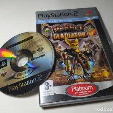 Videojuegos y Consolas: RATCHET : GLADIATOR ( CON ESPAÑOL) ( PS2 - PAL - FRANCE). Lote 288081683