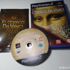 Videojuegos y Consolas: EL CODIGO DA VINCI ( PS2 - PAL - ESP) (1). Lote 288081793