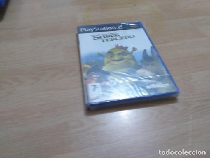 SHREK TERCERO PS2 (PAL ESPAÑA PRECINTADO) - PLAYSTATION 2 PAL ESPAÑA (Juguetes - Videojuegos y Consolas - Sony - PS2)