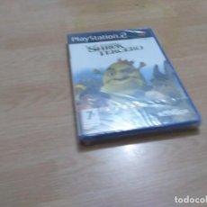 Videojuegos y Consolas: SHREK TERCERO PS2 (PAL ESPAÑA PRECINTADO) - PLAYSTATION 2 PAL ESPAÑA. Lote 288332573