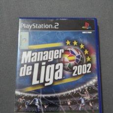 Videojuegos y Consolas: JUEGO PS2 MANAGER DE LIGA 2002. Lote 288500813