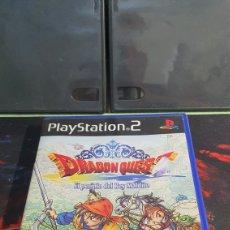 Videojuegos y Consolas: SONY PS2 DRAGON QUEST EL PERIPLO DEL REY MALDITO. Lote 288668878