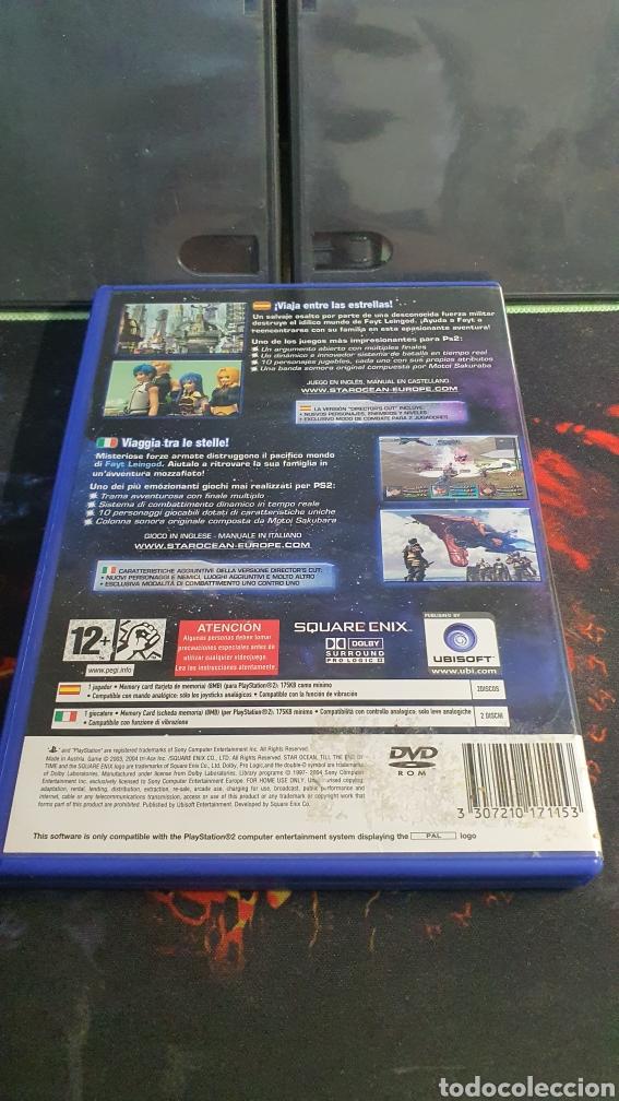 Videojuegos y Consolas: SONY PS2 STAR OCEAN TILL THE END OF TIME - Foto 4 - 288669468