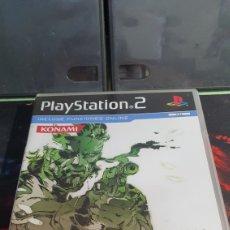 Videojuegos y Consolas: SONY PS2 METAL GEAR SOLID 3 SNAKE EATER. Lote 288669898