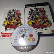 Videogiochi e Consoli: GTA 3 ( PS2 - PAL - ESP). Lote 288971973