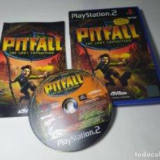 Videogiochi e Consoli: PITFALL : THE LOST EXPEDITION ( PS2 - PAL - ESP)(2). Lote 288972143