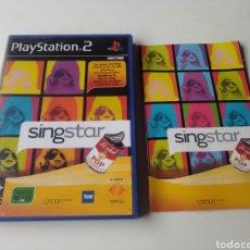 Videojuegos y Consolas: SINGSTAR LA EDAD DE ORO DEL POP ESPAÑOL PLAYSTATION 2. Lote 289332178