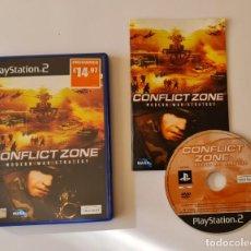 Videojuegos y Consolas: JUEGO PS2 CONFLIC ZONE. Lote 289520863