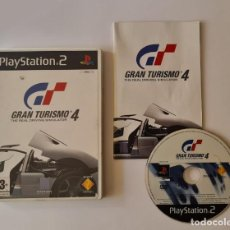 Videojuegos y Consolas: JUEGO PS2 GRAN TURISMO 4. Lote 289521038