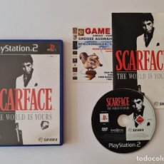 Videojuegos y Consolas: JUEGO PS2 SCARFACE THE WORLD IS YOURS. Lote 289521353
