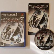 Videojuegos y Consolas: JUEGO PS2 MEDAL OF HONOR EUROPEAN ASSAULT. Lote 289521603