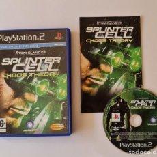 Videojuegos y Consolas: JUEGO PS2 TOM CLANCY'S SPLINTER CELL CHAOS THEORY. Lote 289521753