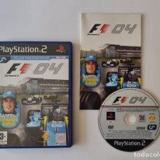 Videojuegos y Consolas: JUEGO PS2 FORMULA ONE 04. Lote 289522068